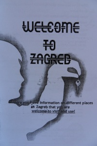 welcome to Zagreb (Flyer)